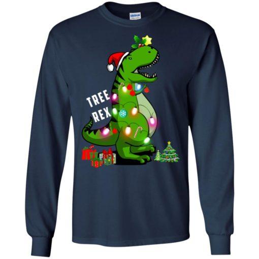 Christmas Tree T-Rex ugly sweatshirt shirt - image 169 510x510
