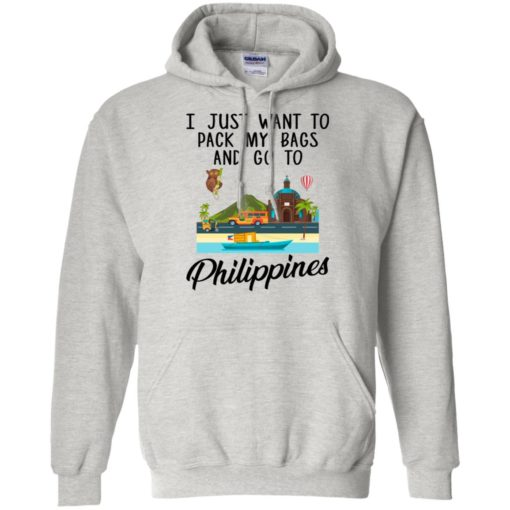 I just want to pack my bags and go to Philippines shirt - image 1695 510x510