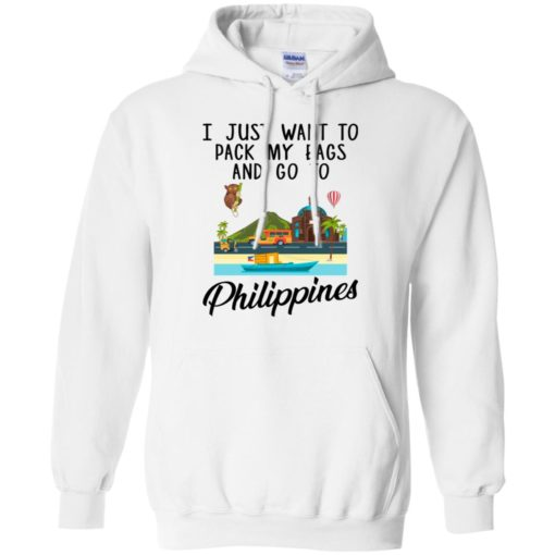 I just want to pack my bags and go to Philippines shirt - image 1696 510x510
