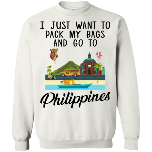 I just want to pack my bags and go to Philippines shirt - image 1698 510x510
