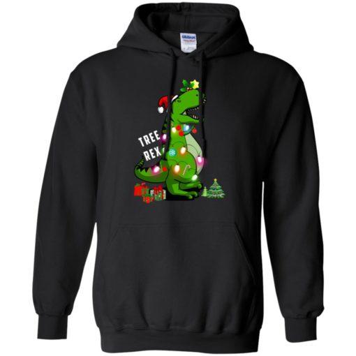 Christmas Tree T-Rex ugly sweatshirt shirt - image 170 510x510