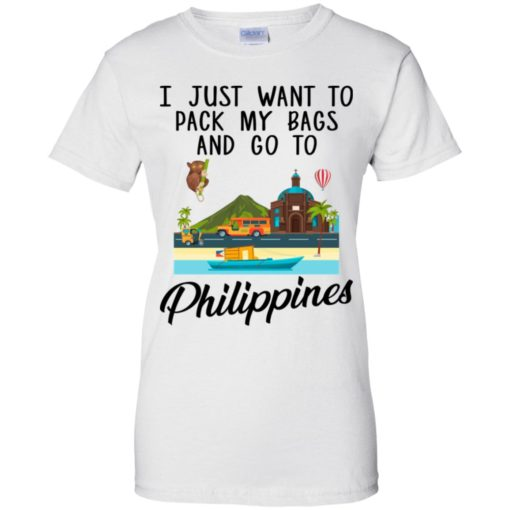 I just want to pack my bags and go to Philippines shirt - image 1700 510x510