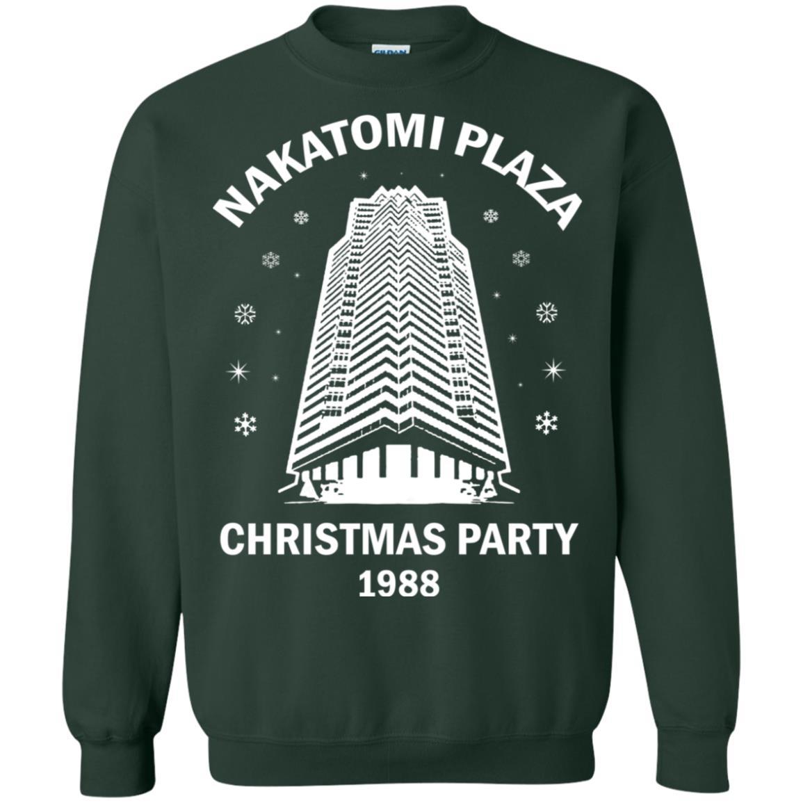 357cad3e9 Nakatomi Christmas Party 1988 Ugly Christmas Sweater shirt - image 184  510x510
