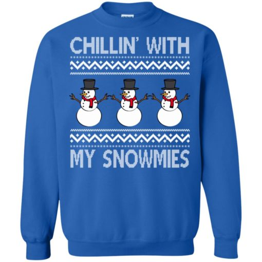 Chillin' With My Snowmies Christmas sweater shirt - image 2078 510x510