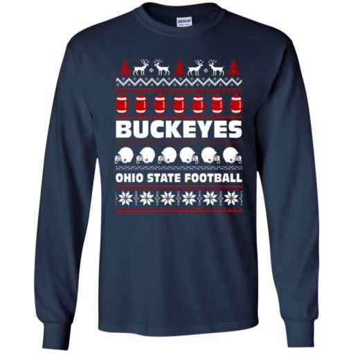 Ohio State Football Buckeyes Ugly Christmas Sweater shirt - image 2092 510x510