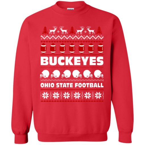 Ohio State Football Buckeyes Ugly Christmas Sweater shirt - image 2096 510x510