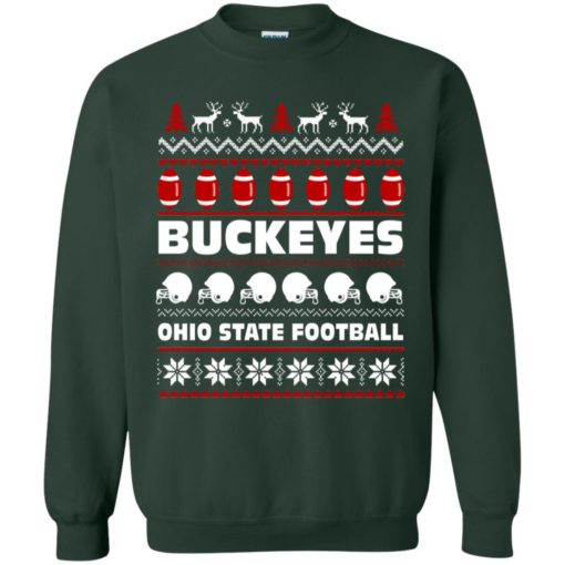 Ohio State Football Buckeyes Ugly Christmas Sweater shirt - image 2097 510x510
