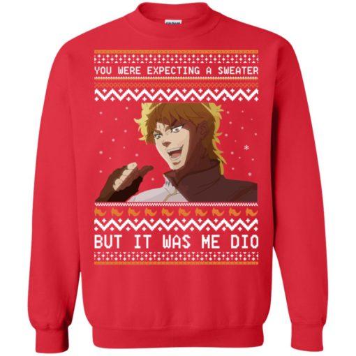 Dio Brando but it was me dio Christmas sweatshirt shirt - image 2176 510x510