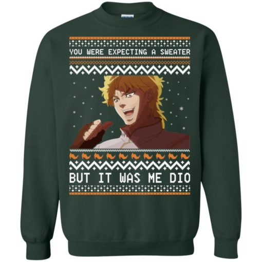 Dio Brando but it was me dio Christmas sweatshirt shirt - image 2177 510x510