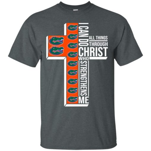 Florida Gators I can do all things through Christ who strengthens me shirt - image 2397 510x510