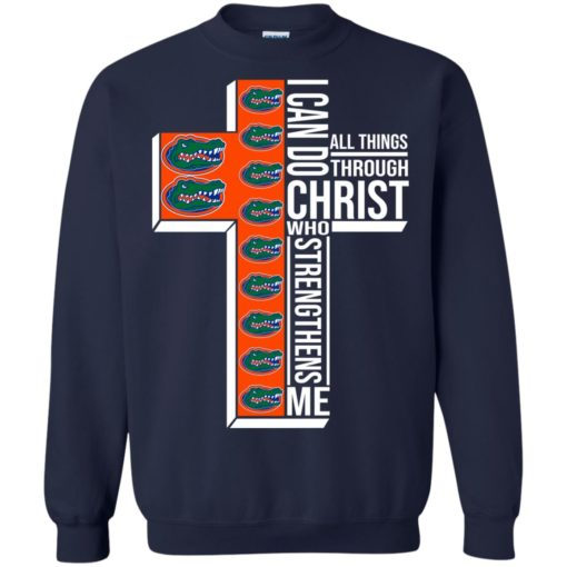 Florida Gators I can do all things through Christ who strengthens me shirt - image 2401 510x510