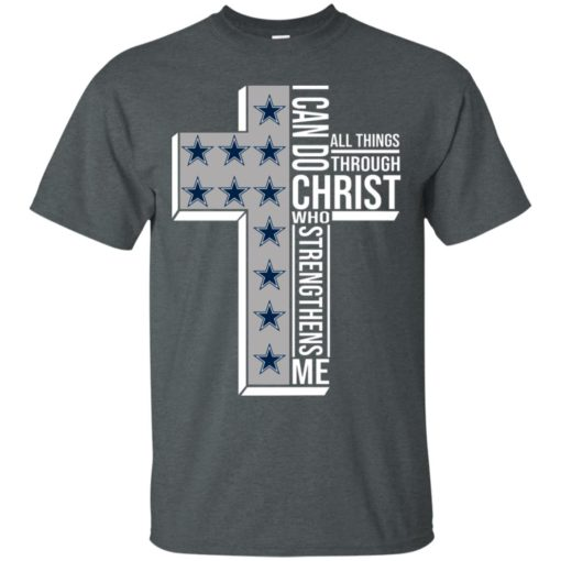Dallas Cowboys I can do all things through Christ who strengthens me shirt - image 2415 510x510