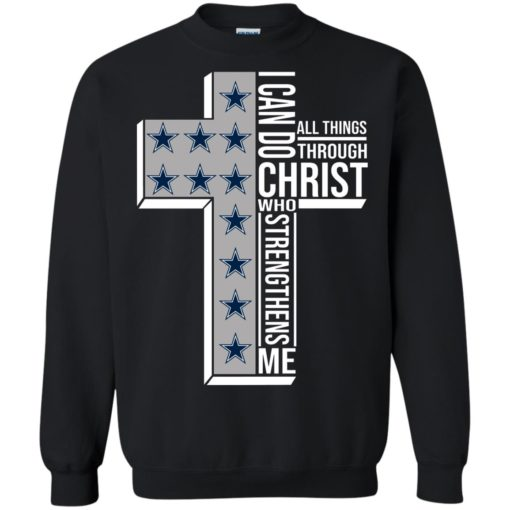 Dallas Cowboys I can do all things through Christ who strengthens me shirt - image 2418 510x510