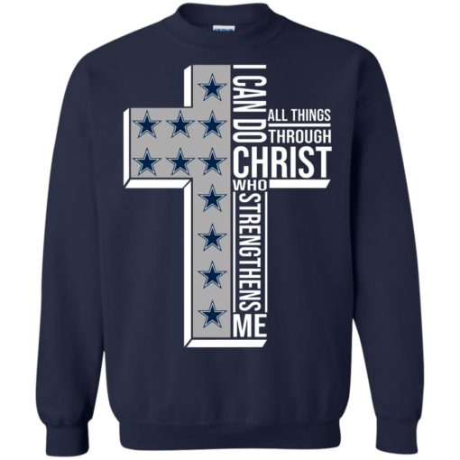 Dallas Cowboys I can do all things through Christ who strengthens me shirt - image 2419 510x510