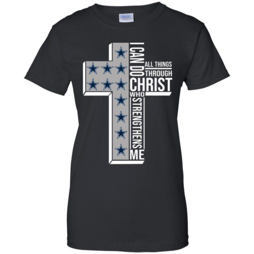 Dallas Cowboys I can do all things through Christ who strengthens me shirt - image 2420 510x510