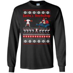 Santa's Twerkshop Christmas Sweater shirt - image 2459 247x247