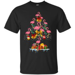 Flamingo Christmas Tree Sweater shirt - image 3078 247x247
