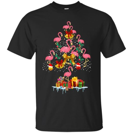 Flamingo Christmas Tree Sweater shirt - image 3078 510x510