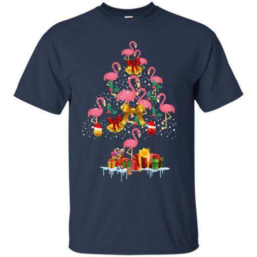 Flamingo Christmas Tree Sweater shirt - image 3079 510x510