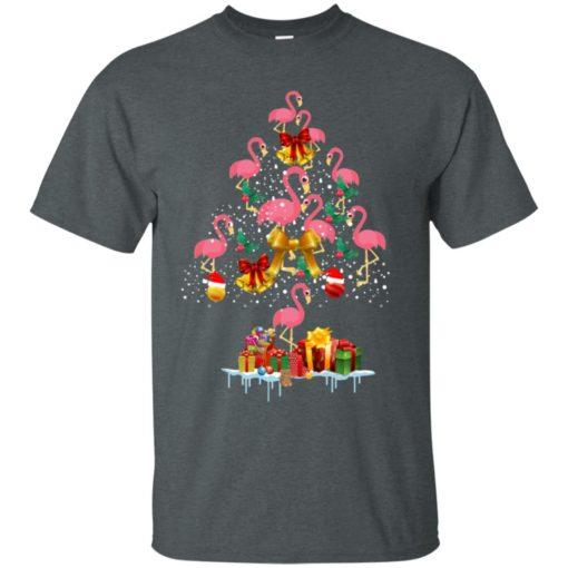 Flamingo Christmas Tree Sweater shirt - image 3080 510x510
