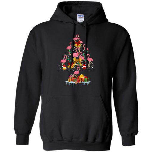 Flamingo Christmas Tree Sweater shirt - image 3082 510x510