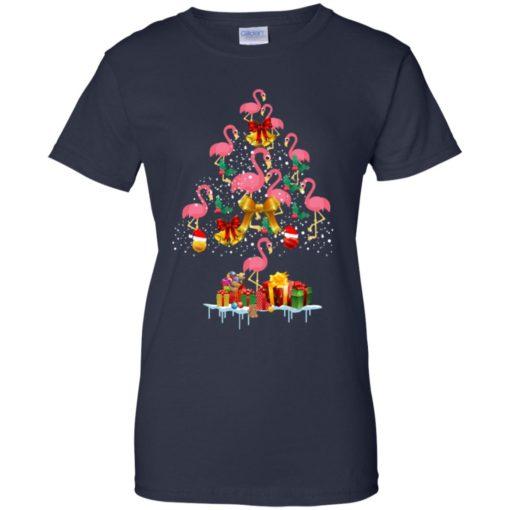Flamingo Christmas Tree Sweater shirt - image 3086 510x510