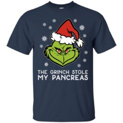 The grinch stole my pancreas Christmas sweatshirt shirt - image 3106 247x247