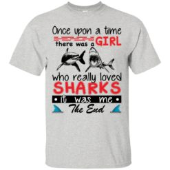 once upon a time there was a girl who really loved shark shirt - image 3159 247x247