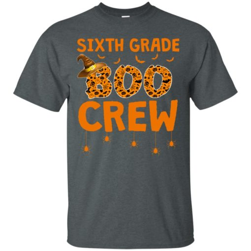 Sixth grade boo crew shirt - image 3215 510x510