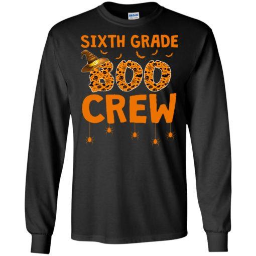 Sixth grade boo crew shirt - image 3216 510x510