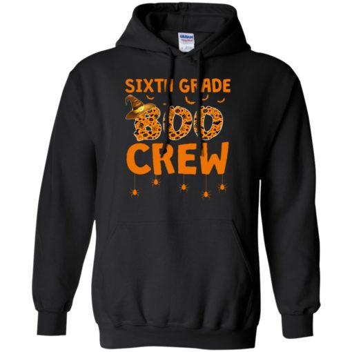Sixth grade boo crew shirt - image 3217 510x510