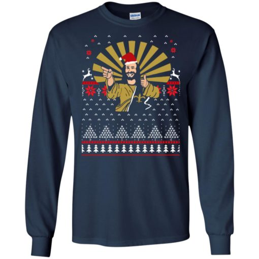 Jesus Santa Ugly Christmas sweater shirt - image 3253 510x510