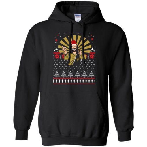 Jesus Santa Ugly Christmas sweater shirt - image 3254 510x510