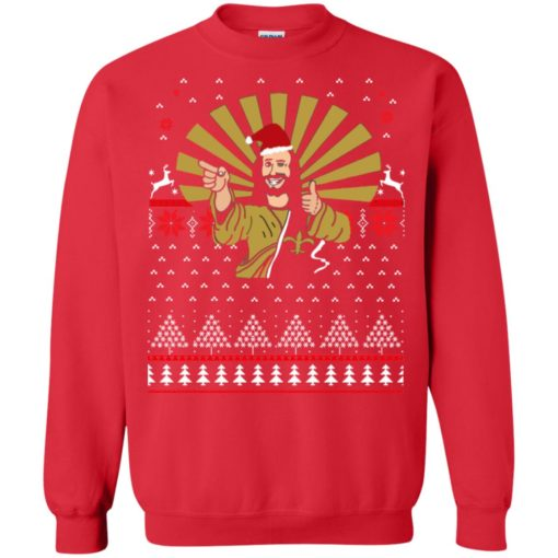 Jesus Santa Ugly Christmas sweater shirt - image 3257 510x510