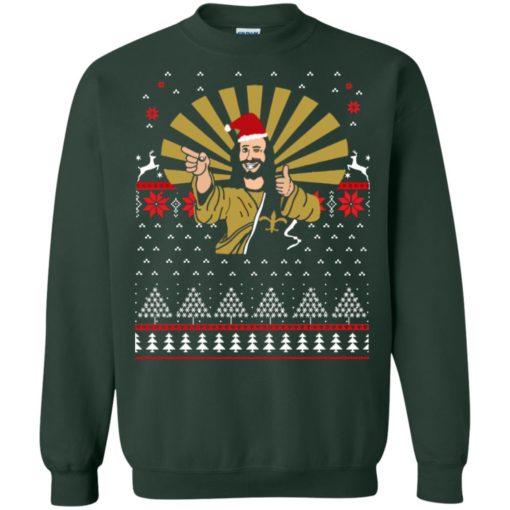 Jesus Santa Ugly Christmas sweater shirt - image 3258 510x510