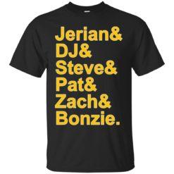 Jerian DJ Steve Pat Zach and Bozie shirt - image 36 247x247