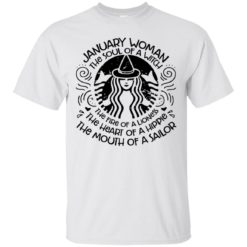 January woman the soul of a witch shirt - image 3752 247x247