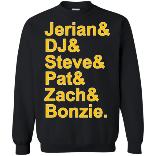 Jerian DJ Steve Pat Zach and Bozie shirt - image 41 510x510