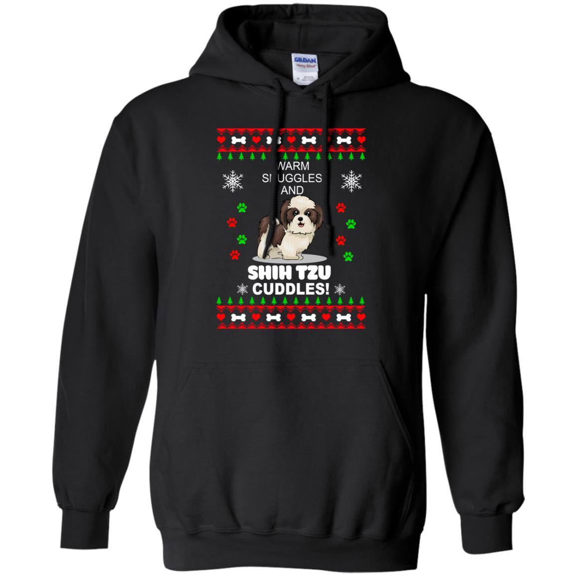 warm snuggles and corgi shih tzu christmas sweater shirt image 4181 510x510