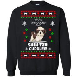 Warm snuggles and corgi Shih Tzu Christmas sweater shirt - image 4182 247x247