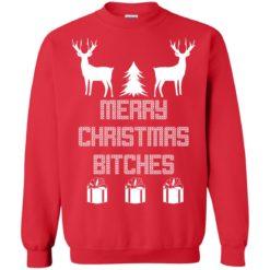 Deer Merry Christmas Bitches Christmas Sweatshirt shirt - image 4254 247x247