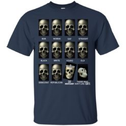 Skull cat rescuers those who don't like cats shirt - image 4343 247x247