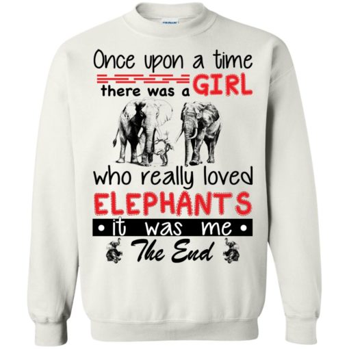 Once upon a time there was a girl who really loved Elephants shirt - image 4385 510x510