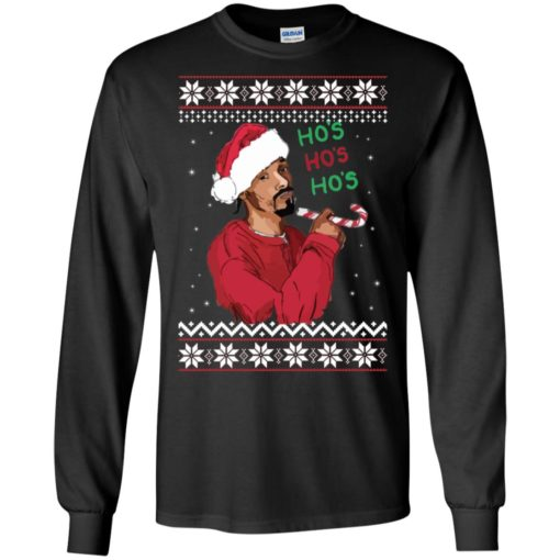 Snoop Dogg Ho's Christmas Sweater shirt - image 4389 510x510