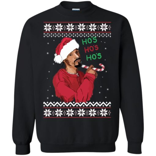 Snoop Dogg Ho's Christmas Sweater shirt - image 4392 510x510