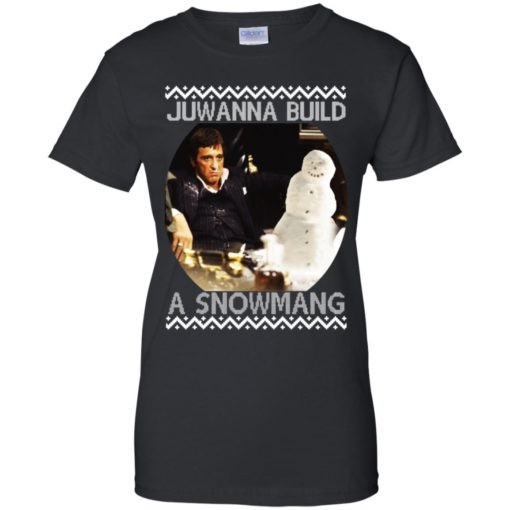 Scarface juwanna build a snowman Christmas ugly sweatshirt shirt - image 4407 510x510