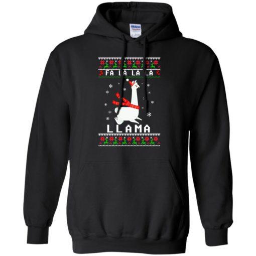 Fa La La La Llama Christmas sweater shirt - image 4531 510x510