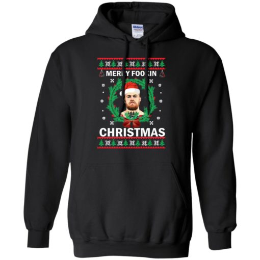 Merry Fookin Christmas Conor Mcgregor sweater shirt - image 4541 510x510