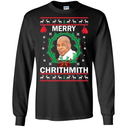 Mike Tyson Merry Christmas sweater shirt - image 4559 510x510