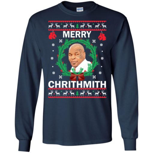 Mike Tyson Merry Christmas sweater shirt - image 4560 510x510